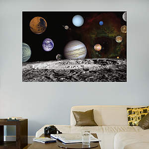 The Solar System - Artist Concept Fathead Wall Decal